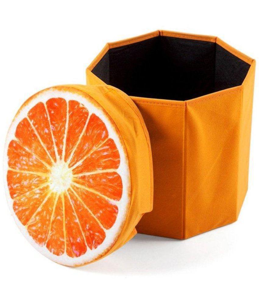 3d Folding Storage Organizer Cum Fruit Stool For Kids